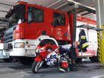 honda wóz strażacki moto46